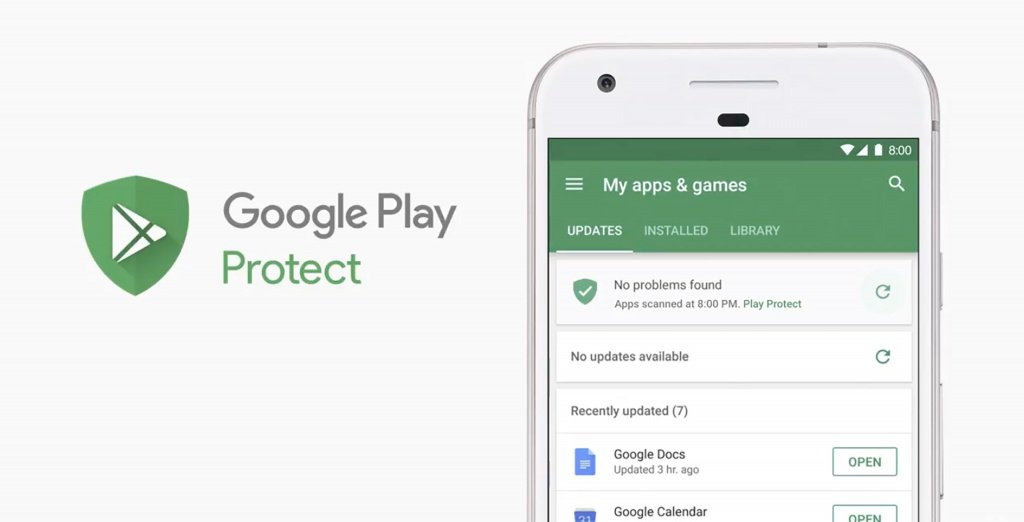 Google Play Protect, android o, android